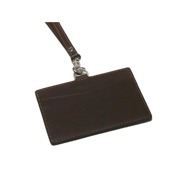 本革製 IDカードケース 社員証入れ ※IDカードケースのみ|tackcraft|02