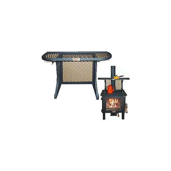 暖テックス 薪ストーブ ウオームシェルフ 和暖WD-560/660/760共通オプション