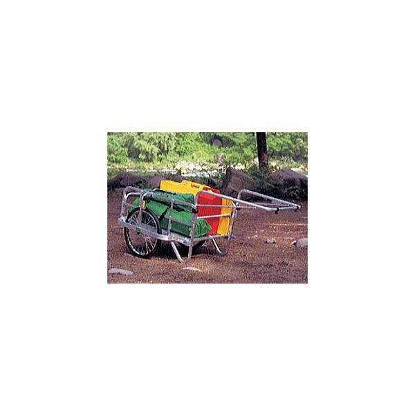 (法人様限定で革手袋進呈中) ハラックス コンパック HC-906 (エアータイヤ TR-20×1.75T装備) アルミ製 折りたたみ式リヤカー (個人宅配送可)