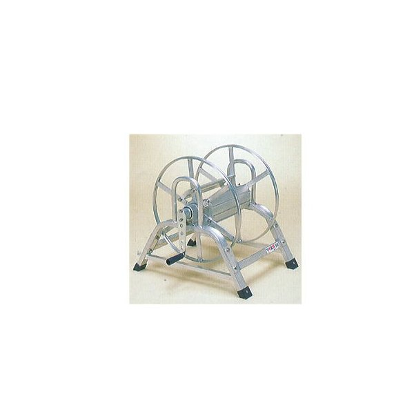 (今なら革手袋進呈中) ハラックス マキ太郎 DR-50 アルミ製 ホース巻取器 (φ8.5動噴ホース用) ホースは別売です。 (個人宅配送可) zs