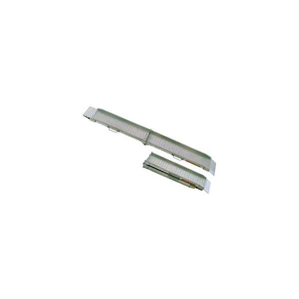 (2本セット) 昭和ブリッジ SGW-180-30-0.5T アルミブリッジ (ツメタイプ) SGW型 踏面スキ間ナシ折りたたみ式 0.5t yuas