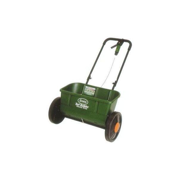 芝生肥料散布機 スコッツ アキューグリーン 3000 SAG-3000 (30L) キンボシ ゴールデンスター ドロップ式肥料散布機