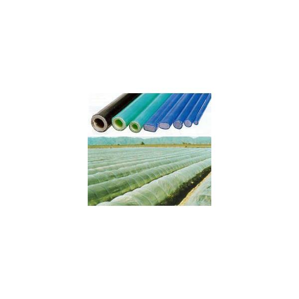 ダンポールP マル105×2.4m 緑 トンネル幅120cm 50本 [トンネル支柱 アーチ支柱]saka