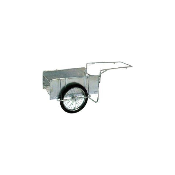 アルミ製 折りたたみ式 リヤカー ハンディキャンパー S8-A1S 側板付 yuas