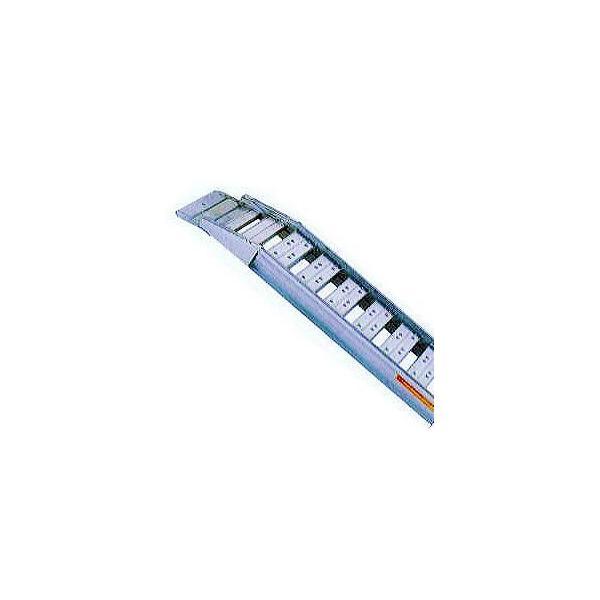 (2本セット) 昭和ブリッジ SBAG-240-40-1.2 アルミブリッジ (セーフベロタイプ) SBAG型 1.2トン yuas