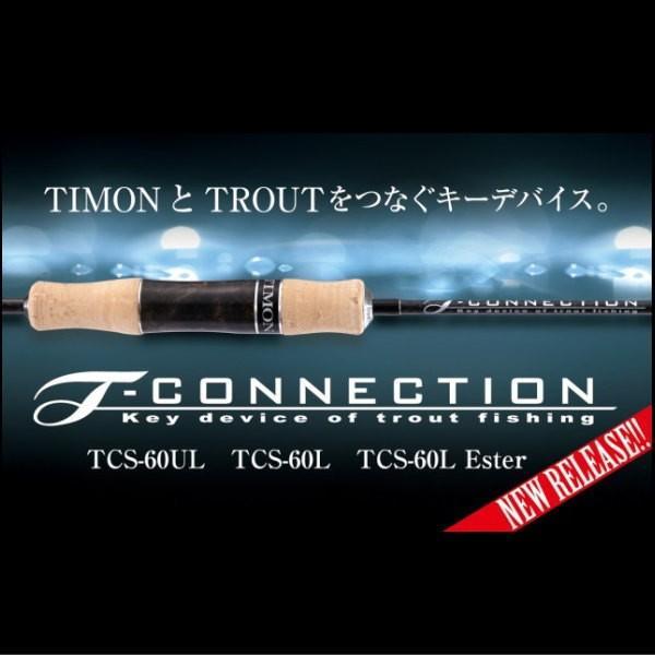 ジャッカル ティモン Tコネクション TCS-60L Ester