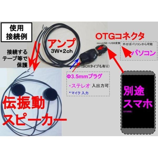 超小型アンプ 3W×2ch USBオーディオアンプ  BOXタイプ|tafuon|04