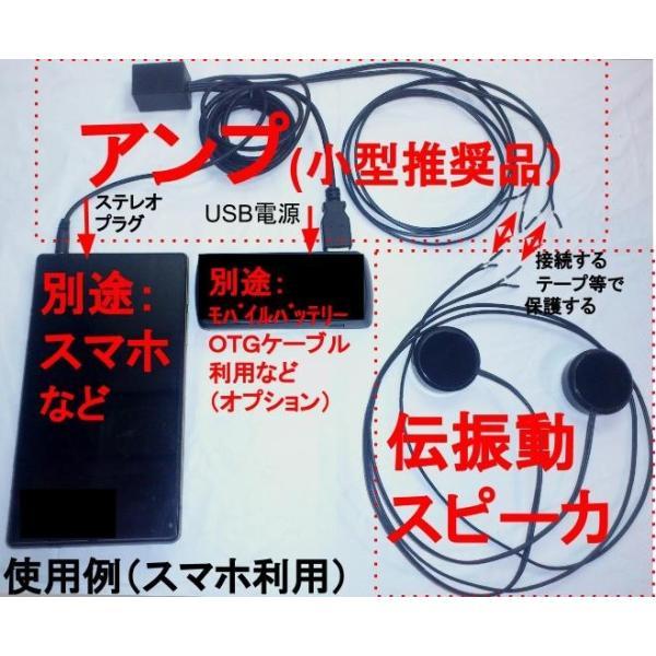 超小型アンプ 3W×2ch ステレオプラグアンプ USBコネクタ電源 BOX状版|tafuon|02
