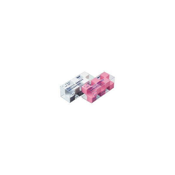 KOKUYO(コクヨ)消しゴム<カドケシプチ>鉛筆用ピンク・ホワイト2色セットケシ−U750−2
