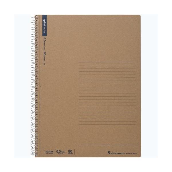 マルマン ノート スパイラルノート  N235ES A4 80枚