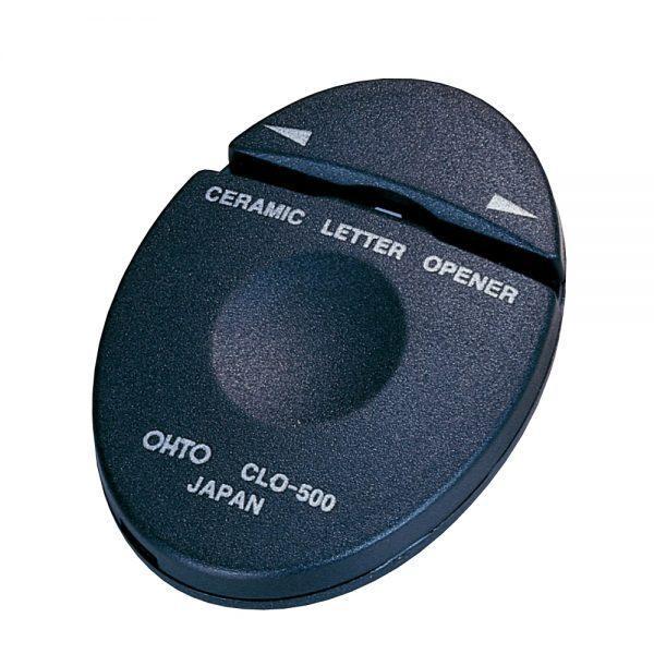オート レターオープナー セラミックレターオープナー 黒 CLO-500クロ(5セット)