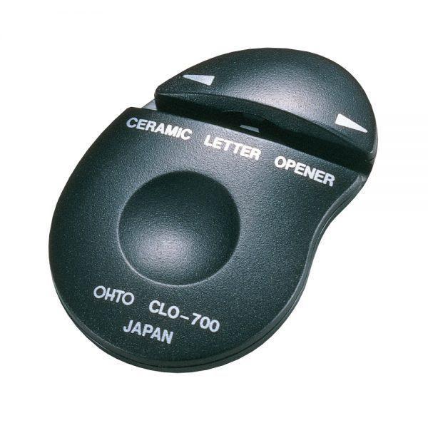 【箱買い商品 / 一箱100セット】オート セラミックレターオープナー CLO−700クロ (※メーカーからの取り寄せになります)