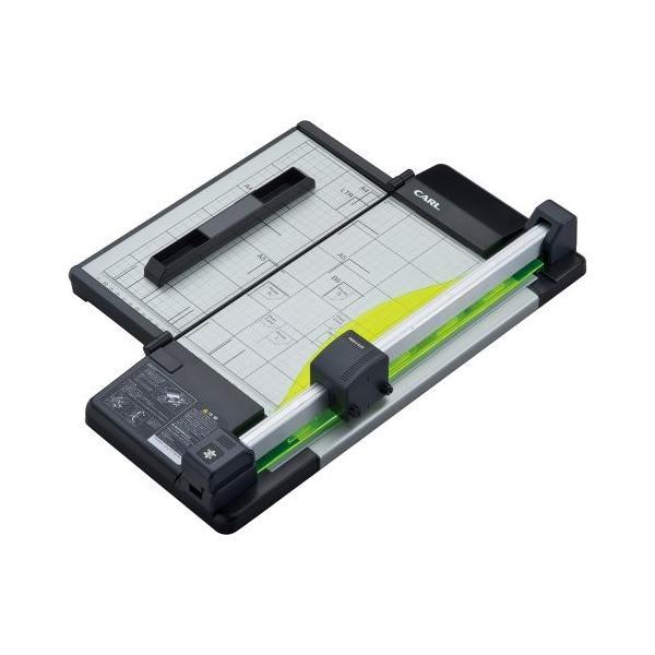 カール事務器 裁断機 ディスクカッター・スリム A4サイズ DC-F5100(10セット)