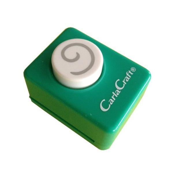 【366円×30セット】カール スモールサイズクラフトパンチ スパイラル CP-1スパイラル カール事務器 4971760990510(30セット)