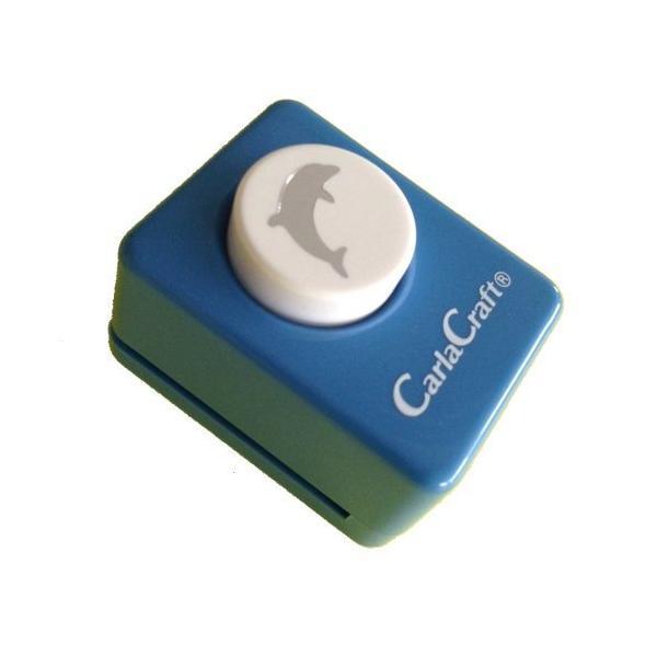 【366円×30セット】カール事務器 クラフトパンチ ドルフィン CP-1 カール事務器 4971760144609(30セット)