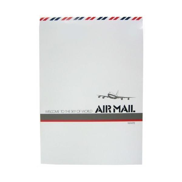 【箱買い商品 / 一箱140セット】うずまき エアメール便箋シロ セ−211 (※メーカーからの取り寄せになります)