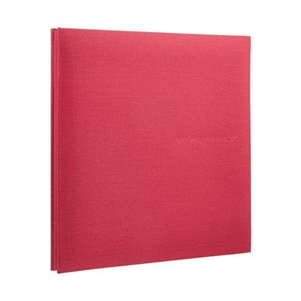 SEKISEI アルバム フリー ハーパーハウス ミニフリーアルバム 黒台紙 20ページ ローズ 11~20ページ 布 ピンク XP-1001(10セット)