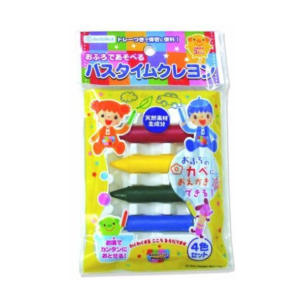 【303円×20セット】デビカ バスタイムクレヨン4色セット デビカ 4904901301272(20セット)