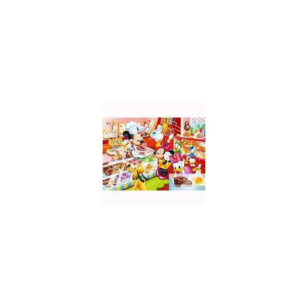 ジグソーパズル チャイルドパズル 80ピース ミッキーのケーキやさん DC-80-046 テンヨー 4905823920466(20セット)