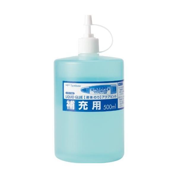 トンボ鉛筆 液体のり アクアピット補充用 PR-WT(10セット)