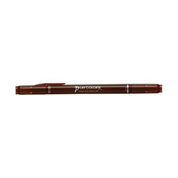 トンボ鉛筆 プレイカラーK ショコラ WS-PK41 00203807(10セット)