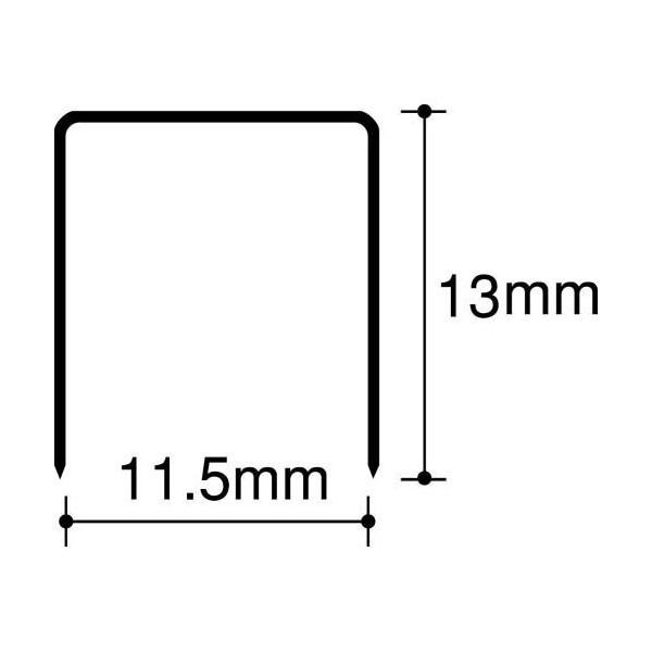 マックス 大型ホッチキス針 1213FA-H(1600本入) マックス 4902870200541