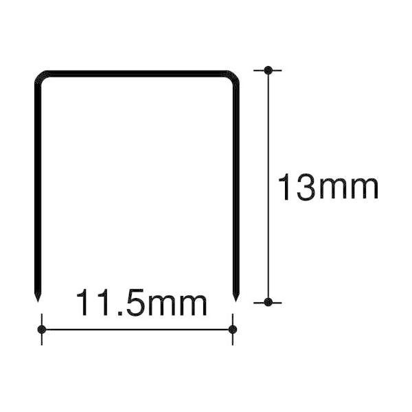 マックス 大型ホッチキス針 1213FA-H(1600本入) マックス 4902870200541(10セット)