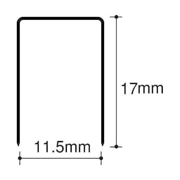 マックス 大型ホッチキス針 1217FA-H マックス 4902870200565(120セット)