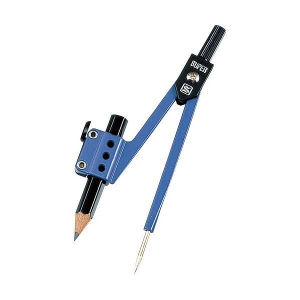 ソニック スーパーコンパス鉛筆用 紺 EC-400-K ソニック 4970116001740(10セット)