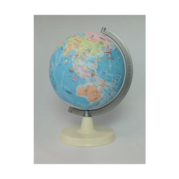 昭和カートン 絵入りひらがな地球儀 21−HPP−L(10セット)