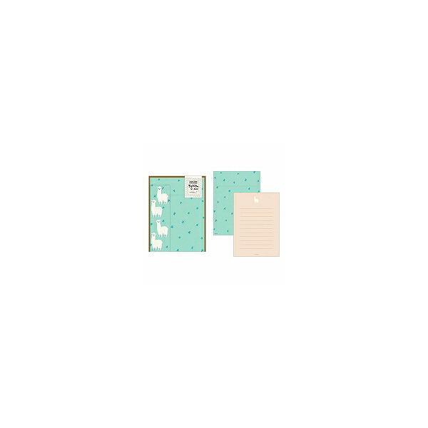 【単価294円・180セット】ミドリ/レターセット367アルパカ 4902805863674(180セット)