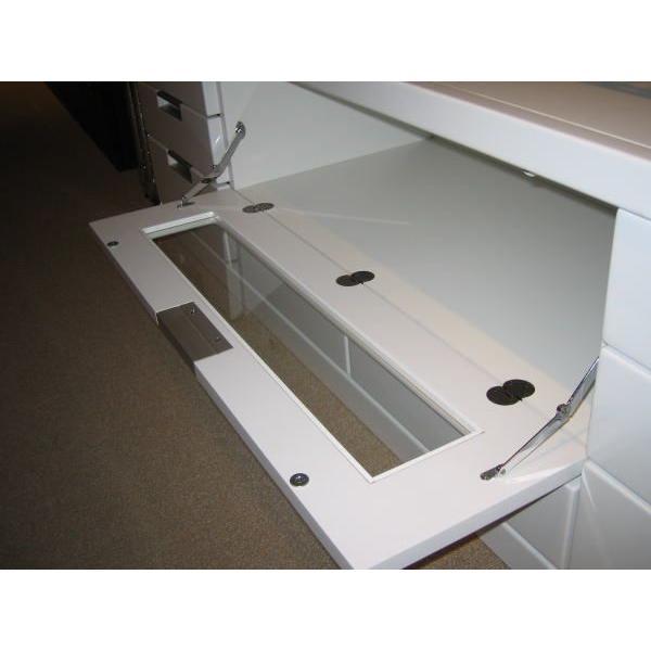 テレビボード リビングボード 開き戸タイプ 150cm ウィル(ホワイト/白)|taiho-kagu|03