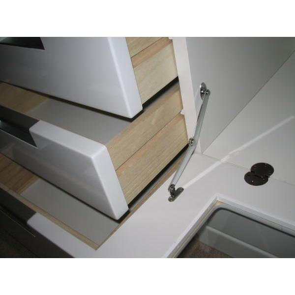 テレビボード リビングボード 開き戸タイプ 150cm ウィル(ホワイト/白)|taiho-kagu|04