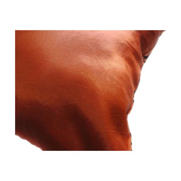 クッションカバー 45×45cm 対応 絹 おみやげ アジアン 海外 雑貨 / タイ シルク クッション カバー リング デザイン ブロンズ 銅|taikokuya|03