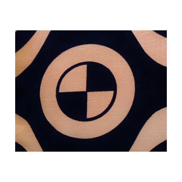 クッションカバー 45×45cm 対応 絹 おみやげ アジアン 雑貨 / タイ シルク クッション カバー チェッカー デザイン オレンジ 橙|taikokuya|02