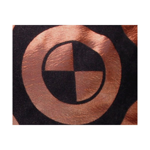 クッションカバー 45×45cm 対応 絹 おみやげ アジアン 雑貨 / タイ シルク クッション カバー チェッカー デザイン ブラウン 茶色|taikokuya|02