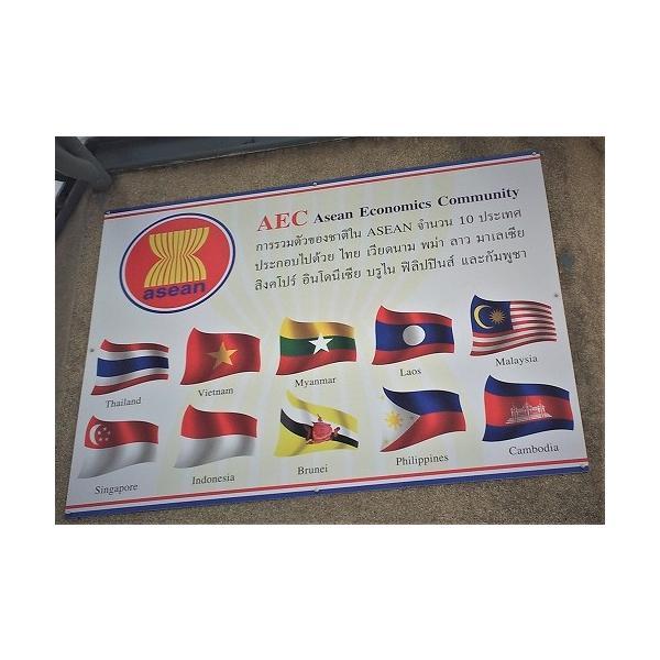 ステッカー タイ 雑貨 アジアン シール / タイ王国 国旗 ステッカー(THAI) M サイズ t-F / お土産 おみやげ 海外 旅行 アジア|taikokuya|12