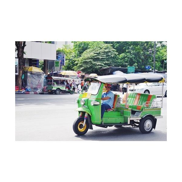 ステッカー タイ 雑貨 アジアン シール / タイ王国 国旗 ステッカー(THAI) M サイズ t-F / お土産 おみやげ 海外 旅行 アジア|taikokuya|14