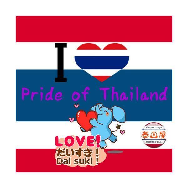ステッカー タイ 雑貨 アジアン シール / タイ王国 国旗 ステッカー(THAI)M サイズ ラメ t-H  / おみやげ 旅行|taikokuya|10