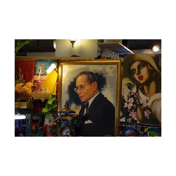 ステッカー タイ 王室 プミポン国王(ラーマ9世) 肖像 ゴールド 丸型 Sサイズ / おみやげ 旅行|taikokuya|13