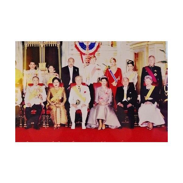 ステッカー タイ 王室 プミポン国王(ラーマ9世) 肖像 ゴールド 丸型 Sサイズ / おみやげ 旅行|taikokuya|18