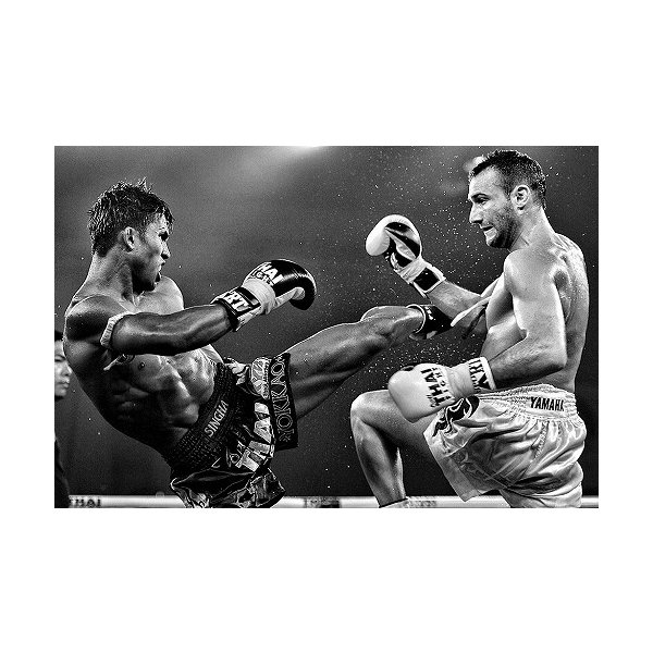ステッカー タイ 王国 ムエタイ キック ボクシング グッズ (MUAY-THAI 7P-B) L サイズ / おみやげ 旅行|taikokuya|12