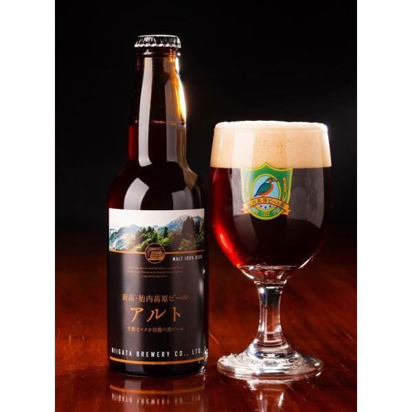 地ビール クラフトビール 胎内高原ビール アルト 330ml 新潟産|tainaibeer