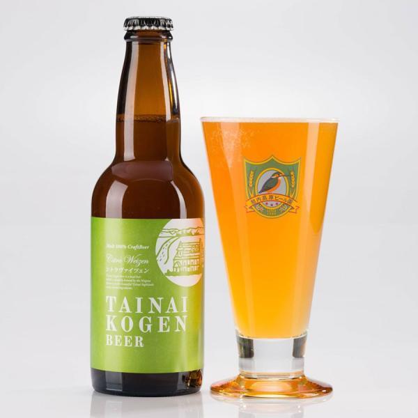 クラフトビール 新潟産 地ビール 胎内高原ビール シトラヴァイツェン 330ml|tainaibeer