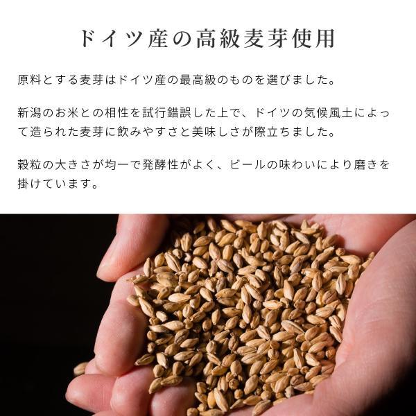 クラフトビール 地ビール 吟米麦酒(ギンマイビール) 吟米WHITE 330ml 新潟産 コシヒカリ tainaibeer 05