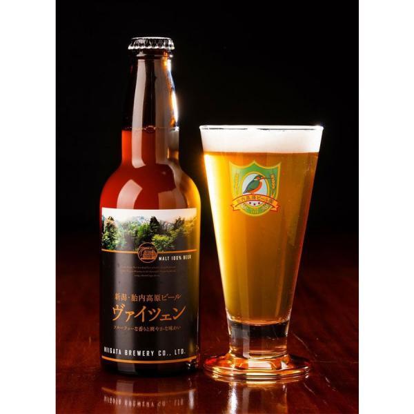 地ビール 新潟産 クラフトビール 胎内高原ビール 330ml ヴァイツェン|tainaibeer