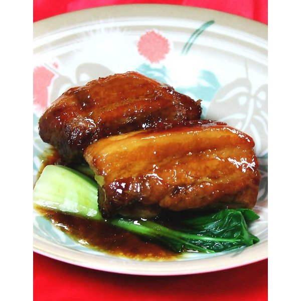 柔らか濃厚 厚切り豚バラ肉の牡蠣油蒸(約250g)|taipei|03