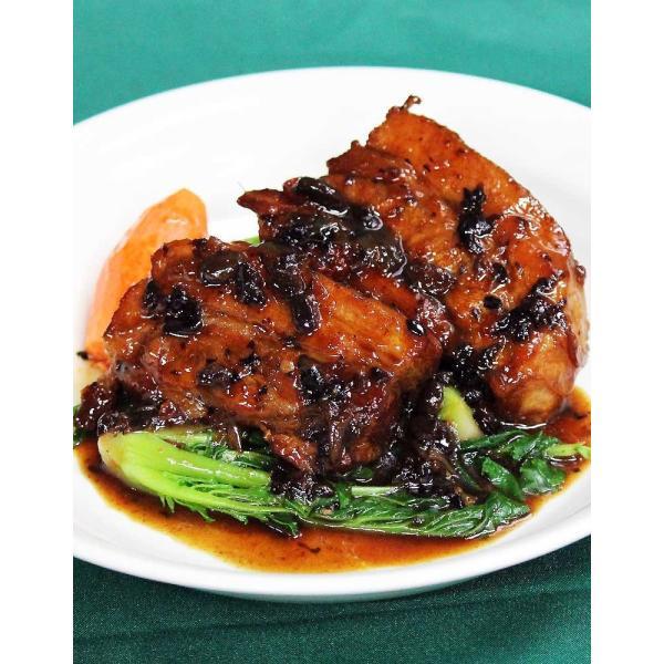 豚バラ肉トウチー蒸(約250g) taipei 02