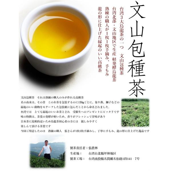 文山包種茶 (メール便発送 ティーパック@2g×20個入り)|taipei|02