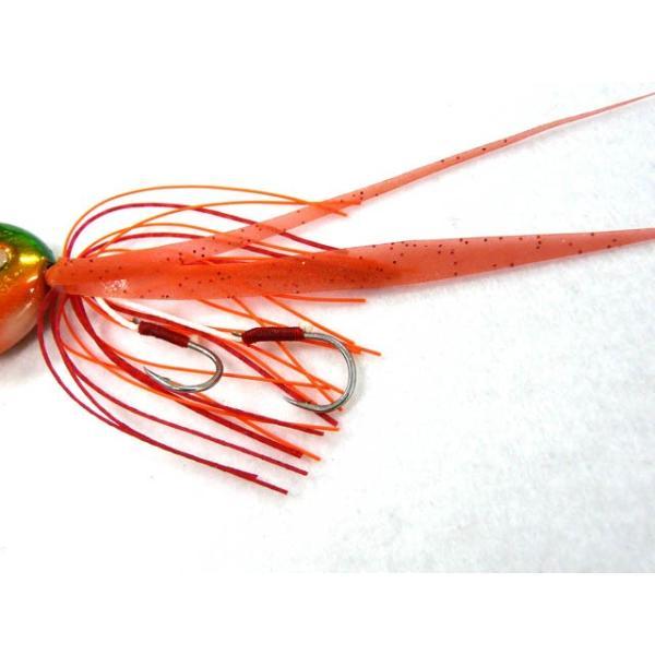 シャウト!(Shout) スライドアンサー(SLIDE ANSEWER) 151SL 45g グリーンオレンジ|tairabanet|03